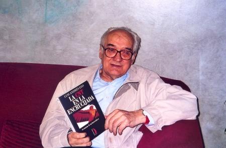 El día de la presentación de sus memorias a la prensa, noviembre 2006