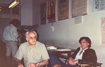 Con José Martin-Artajo en Venecia, sept. de 1984