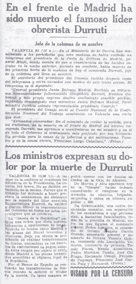 19361121 La Voz