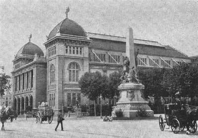 Palacio de las Bellas Artes donde fue Fundada la Confederación Nacional del Trabajo el 1 de noviembre de 1910