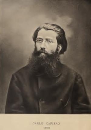 Fotografía de Carlo Cafiero en 1878