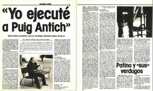 En 1974 mientras Salvador esperaba su ejecución y el mundo se movilizaba para conseguir su indulto, Joan Miró pintó la serie La esperanza del condenado a muerte.