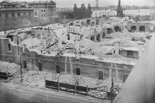 Sagarra . Cuartel anexo de Atarazanas casi derruido.