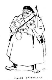 Caricatura de Bajatierra (1936)