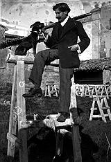 03-Acín y su perro Tobi, 1911-12