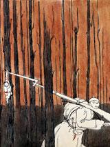 10-Escena la la serie Guerra a la Guerra. Acín, 1919-1921