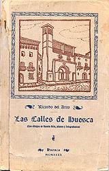 12-Portada de Las calles de Huesca 1922
