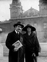 13-Acín y Conchita tras su matrimonio, 1923