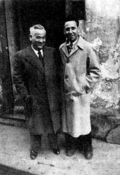 benito-milla-con-el-intelectual-anarquista-antonio-garcia-birlan-paris-1948