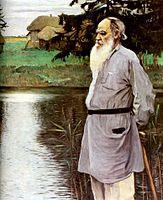 leon-tolstoi-en-la-orilla-de-la-laguna-en-yasnaia-1907-m-nesterov