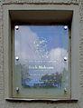Placa conmemorativa en Berlín-Charlottenburg