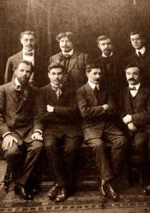 Equipo de redactores y de administradores de la Bataille Syndicaliste