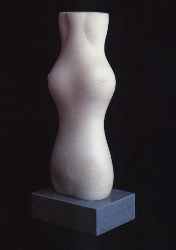 Escultura femenina de Baltasar Lobo