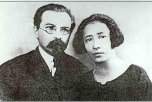 Georges y Olga Maximov (París, 1925)