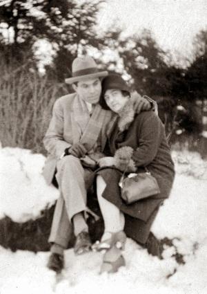 Durruti y Morin en el año 1928