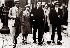 A la iquierda Morín y Durruti en 1929
