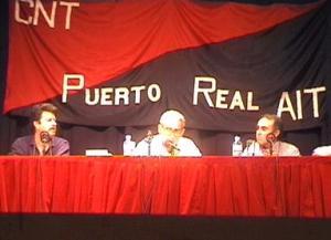 Foto participando en las Jornadas Culturales de Puerto Real
