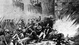 El atentado durante la Procesión de Corpus Christi de 1896 en Barcelona