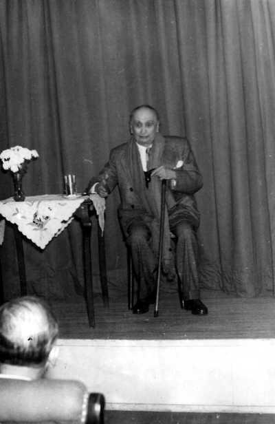 Tito L. Foppa poco antes de morir