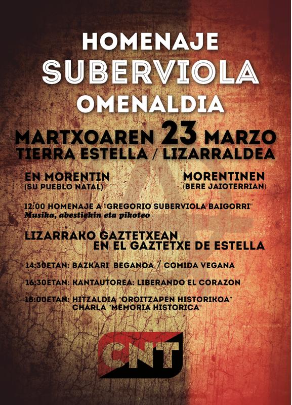Gregorio Suberviola Baigorri (Vida y obra)