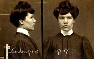 Anna-Thérèse Dondon, foto policial.
