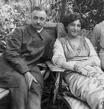 Félix y Gabrielle Vallotton 1911 (Honfleur, 1911)