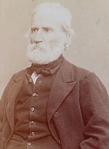 Auguste Blanqui, en su edad madura.