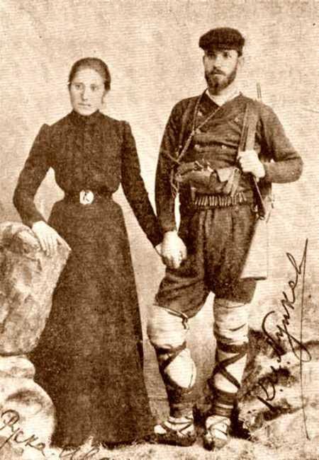 Nunkov con su compañera