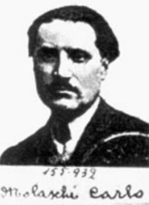 Foto policíaca de Carlo Molaschi