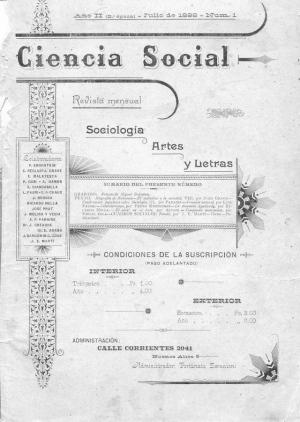 Ciencia Social