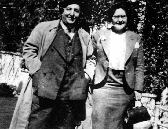 Galo Díez y Federica Montseny (Jaén, 1937)
